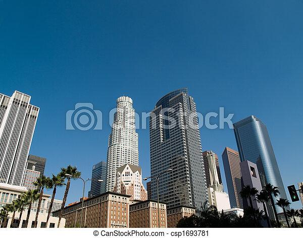 アンジェルという名前の人たち, los, 超高層ビル - csp1693781
