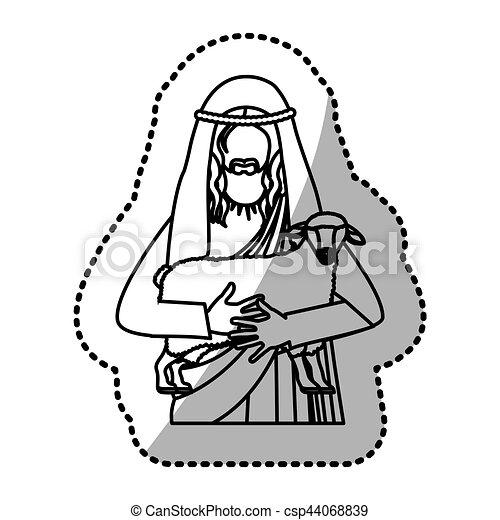 イエスキリスト キリスト教 グラフィック キリスト イラスト