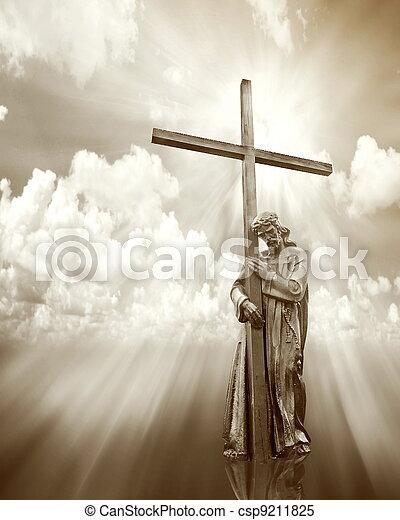 イエス・キリスト, 保有物, 交差点 - csp9211825