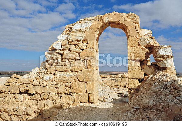 イスラエル, 旅行, -, negev, 写真, 砂漠 - csp10619195