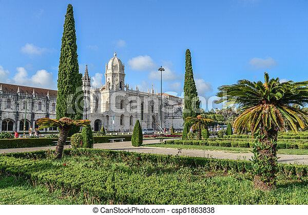 イメージ, hieronymites, 美しい, (jeronimos), 修道院 - csp81863838