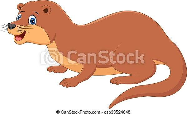 イラスト かわいい イタチ 動物 かわいい ベクトル イタチ