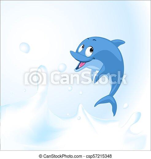 イルカ イラスト ジャンプ ベクトル 海 ミルク