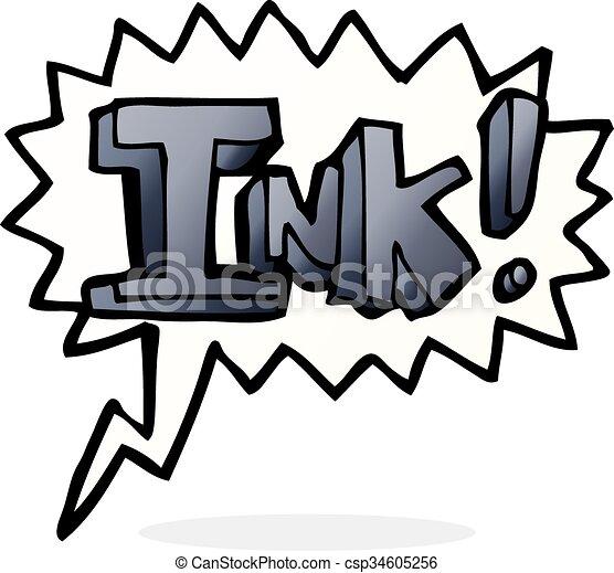 インク, スピーチ泡, 漫画 - csp34605256