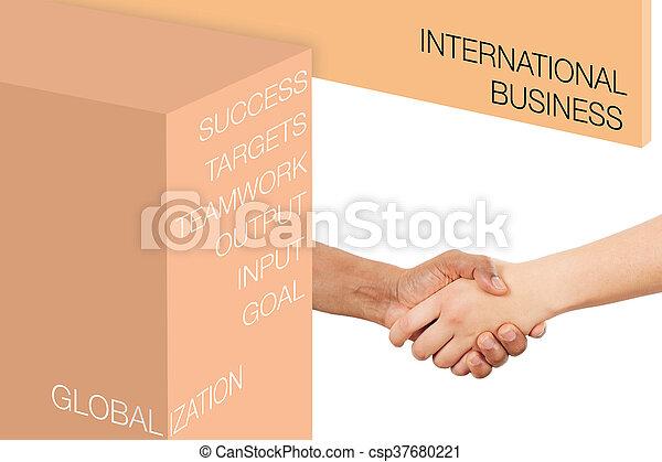 インターナショナル, 概念, ビジネス - csp37680221