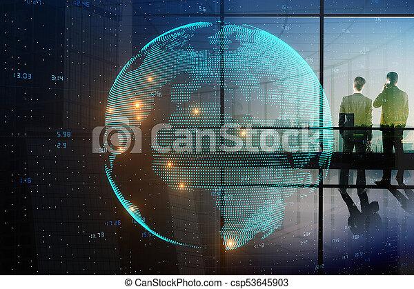 インターナショナル, 概念, ビジネス - csp53645903