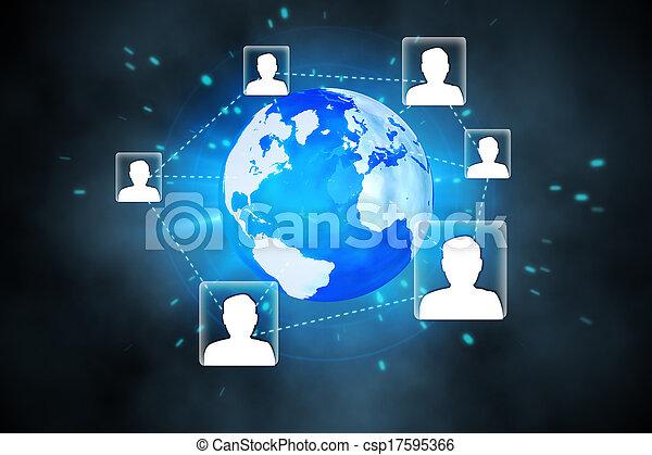 インターフェイス, 未来派, 技術 - csp17595366