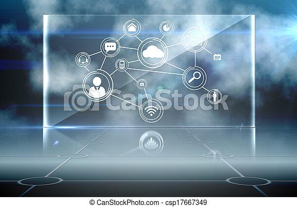 インターフェイス, 未来派, 技術 - csp17667349