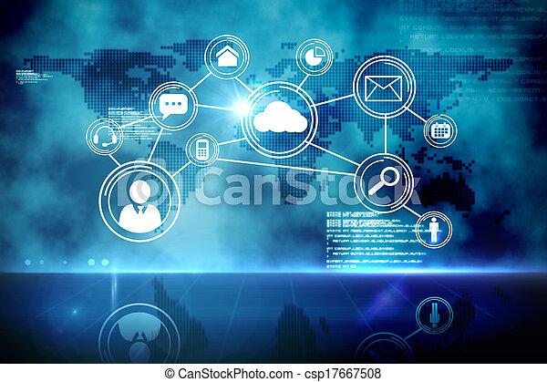 インターフェイス, 未来派, 技術 - csp17667508