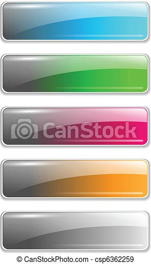 ウェブサイト, ボタン - csp6362259