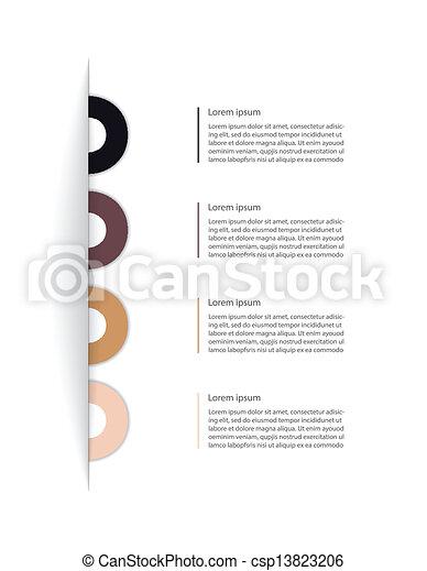 ウェブサイト, 現代, デザイン, あなたの, テンプレート - csp13823206