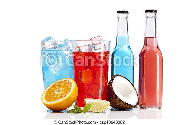 エキゾチック, セット, 飲み物, アルコール, 成果 - csp10648082