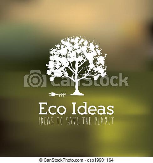 エコロジー, デザイン - csp19901164