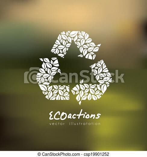 エコロジー, デザイン - csp19901252