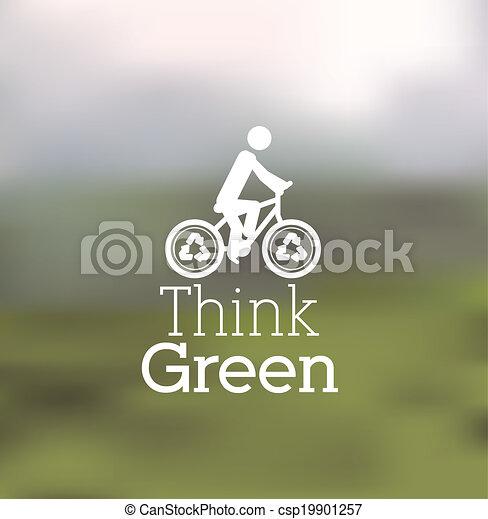 エコロジー, デザイン - csp19901257