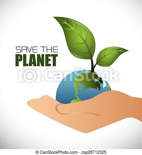 エコロジー, design. - csp28712325