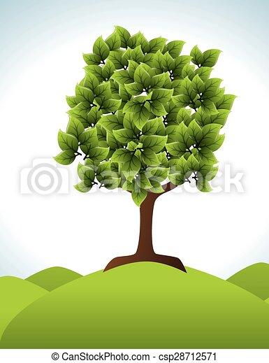 エコロジー, design. - csp28712571
