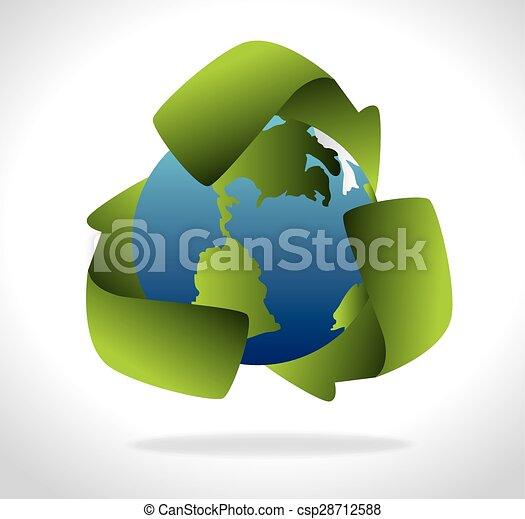 エコロジー, design. - csp28712588