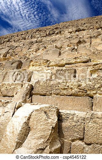 エジプトのピラミッド, 偉人 - csp4545122