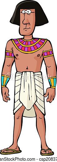 エジプト人, 古代, 市民 - csp20837996