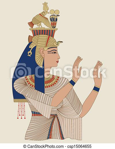 エジプト人, 女王, taia - csp15064655