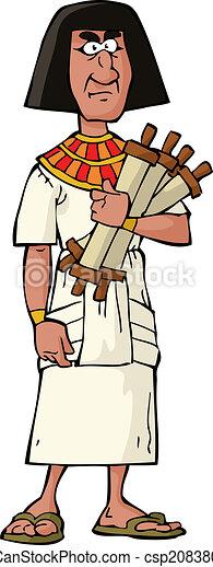 エジプト人, 役人, 古代 - csp20838006
