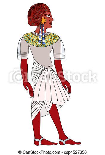 エジプト, 古代, 女 - csp4527358