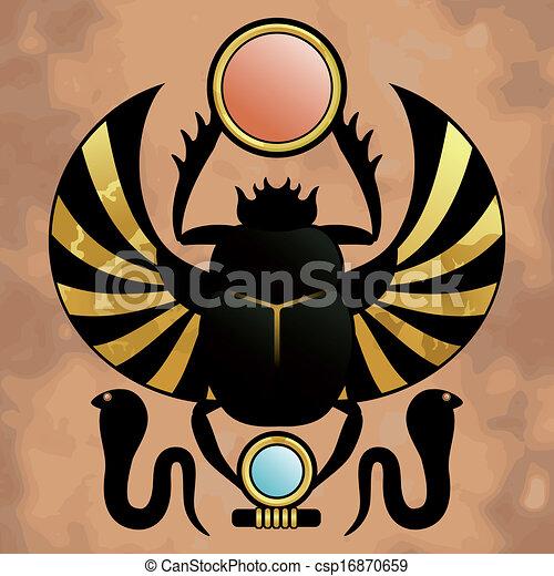 エジプト, 宗教, 古代 - csp16870659