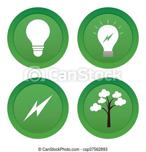 エネルギー, きれいにしなさい - csp37562893