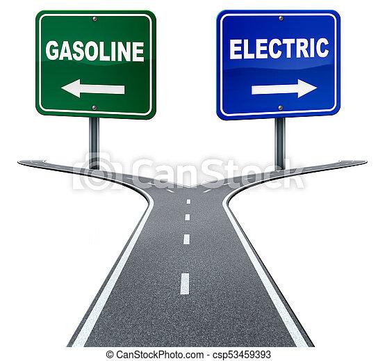 エネルギー, ガソリン, 電気である - csp53459393
