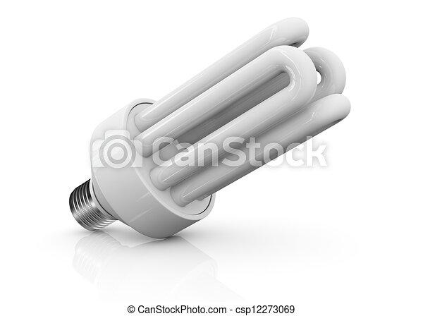 エネルギー, セービング, ランプ - csp12273069