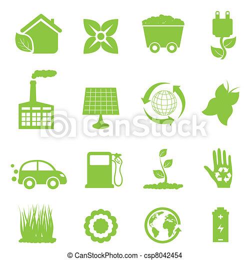 エネルギー, リサイクル, きれいにしなさい - csp8042454