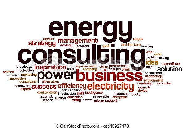 エネルギー, 単語, 相談, 雲 - csp40927473