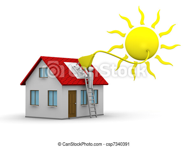 エネルギー, 太陽 - csp7340391