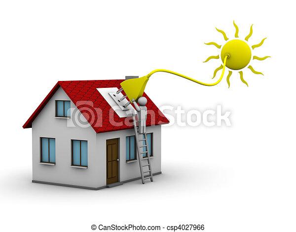 エネルギー, 太陽 - csp4027966