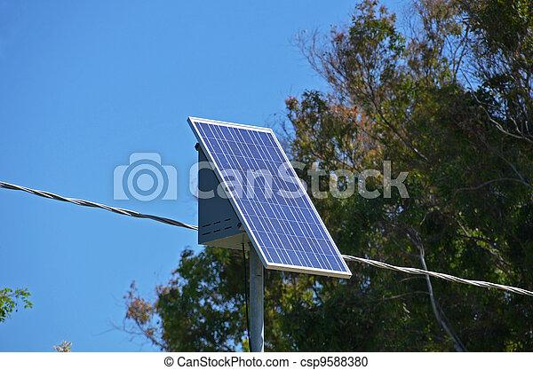 エネルギー, 太陽 パネル - csp9588380