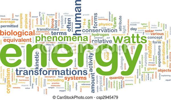 エネルギー, 概念, 物理学, 背景 - csp2945479