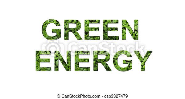 エネルギー, 緑 - csp3327479