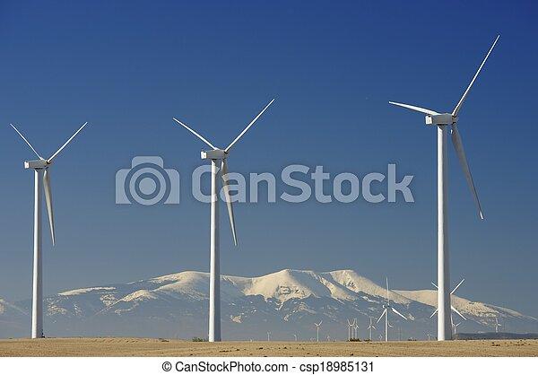 エネルギー, 風 - csp18985131