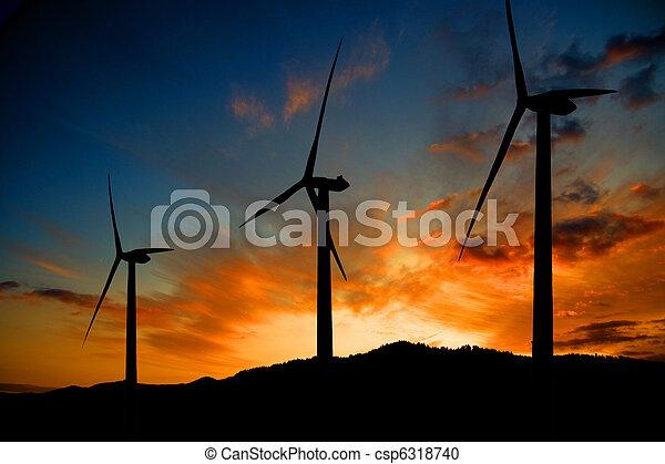 エネルギー, 風 - csp6318740