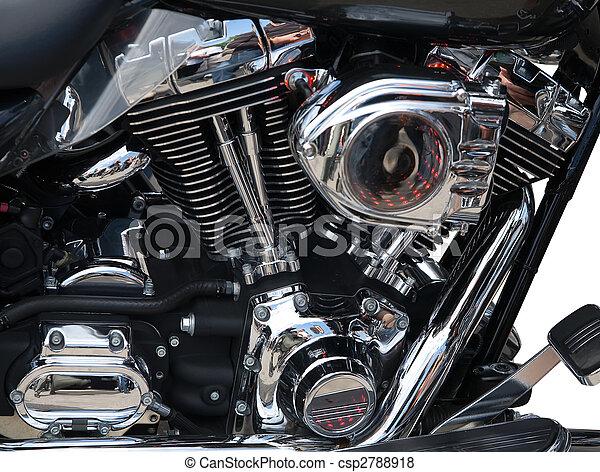 エンジン, クローズアップ, オートバイ - csp2788918