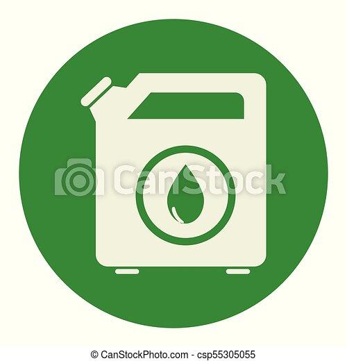 オイル タンク, galon, アイコン - csp55305055