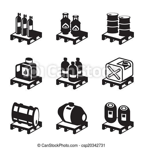 オイル, 化学物質, ガス, プロダクト - csp20342731