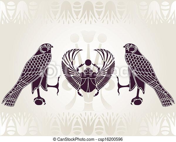 オオタマオシコガネ, horus, エジプト人 - csp16200596