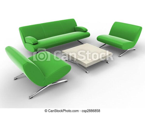 オフィス家具 - csp2886858