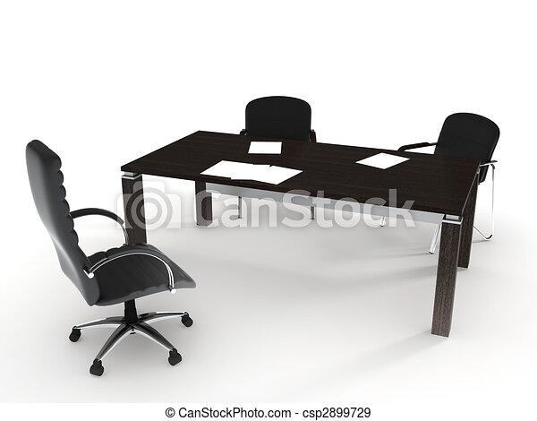 オフィス家具 - csp2899729