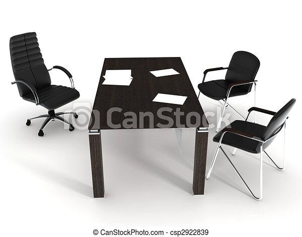 オフィス家具 - csp2922839