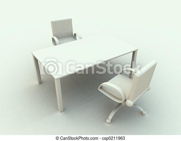 オフィス家具, 2 - csp0211963