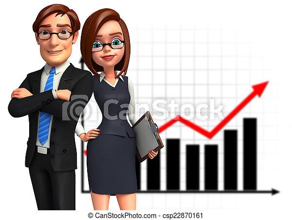 オフィス。, グループ, ビジネス 人々 - csp22870161