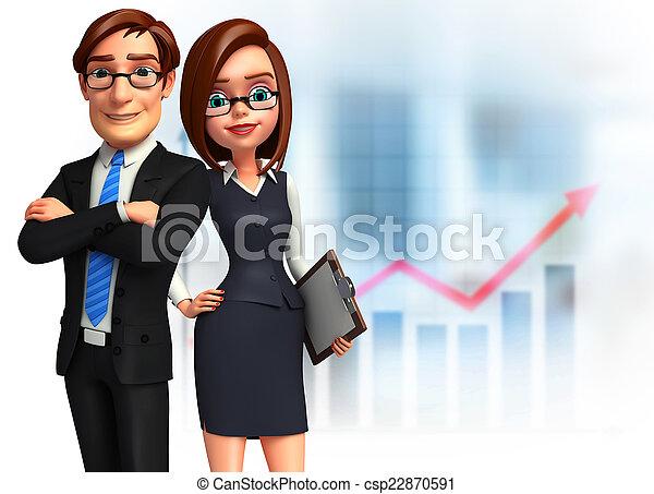 オフィス。, グループ, ビジネス 人々 - csp22870591